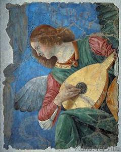 Engel mit Laute